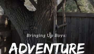 Bringing up boys: Adventure, work and play