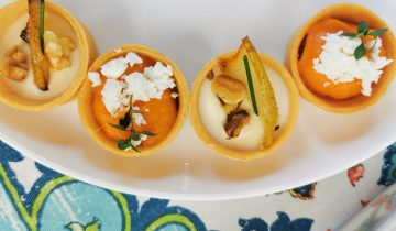 Homeschool cooking: Easy and impressive savory tartlet canapes